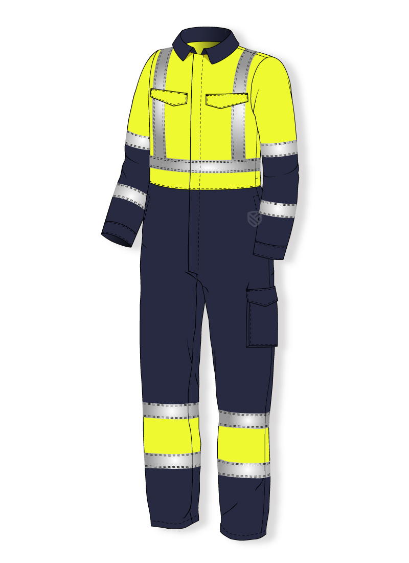 Multi-protective overall