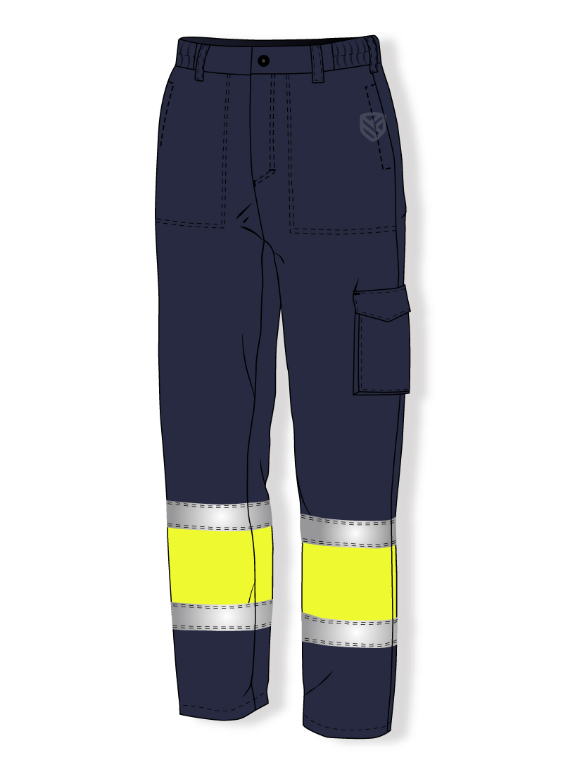 Multi-protective padded trousers