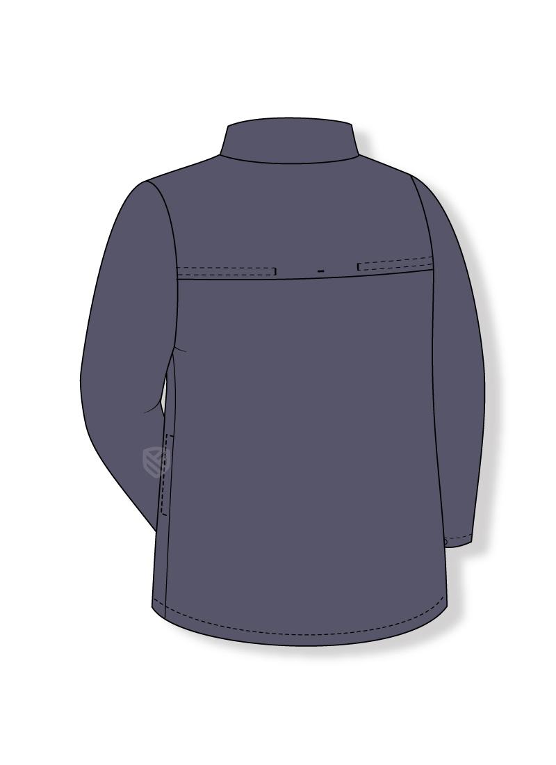Flame retardant sweatshirt for welders