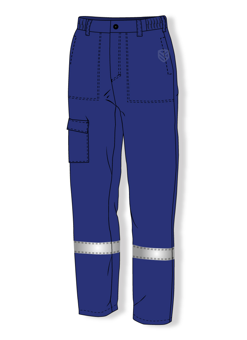 Trousers protecting against electric arc