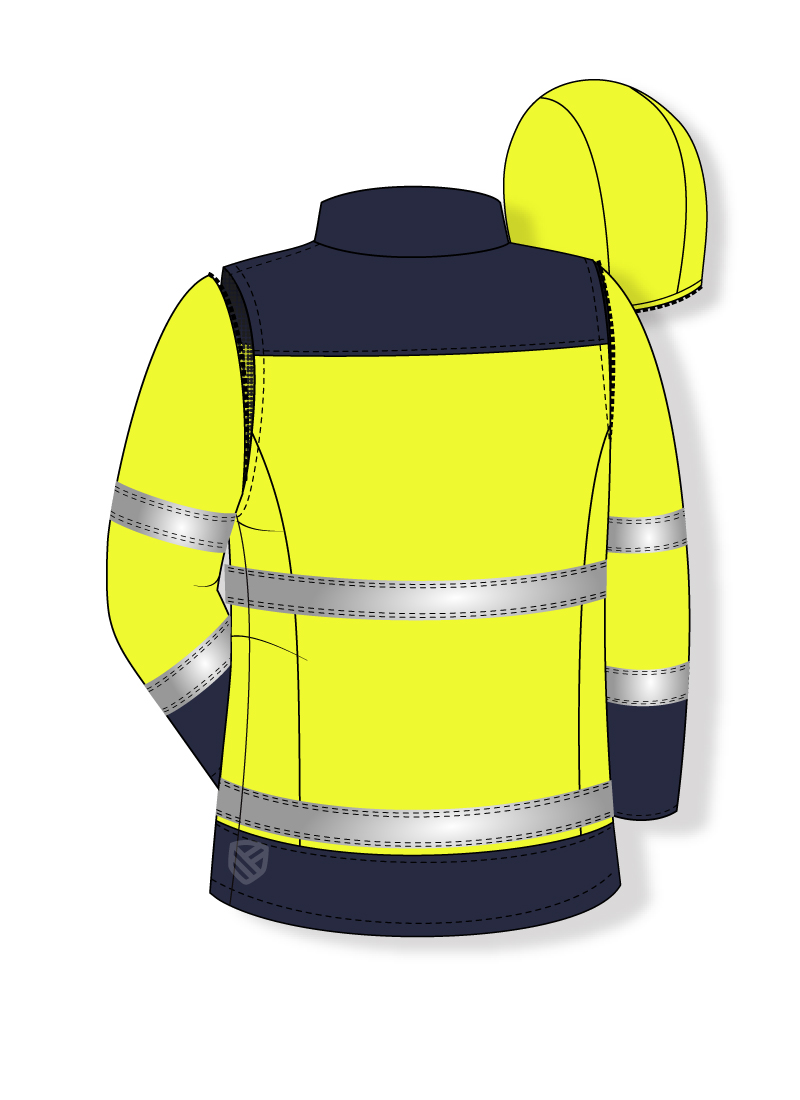Multi-protective sweatshirt