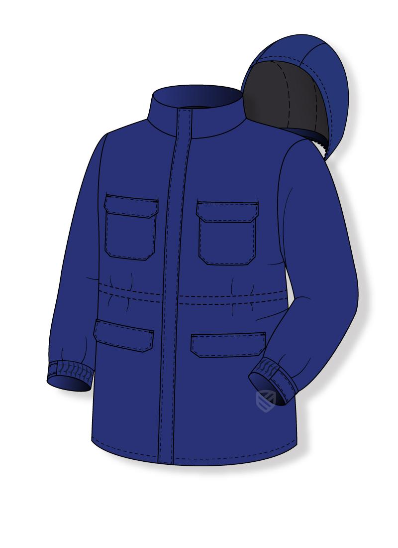 Antielectrostatic jacket
