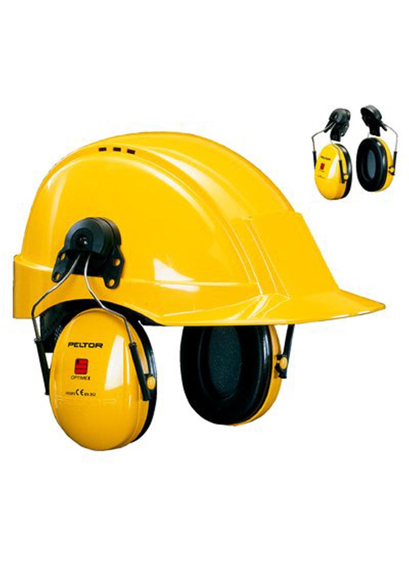 Optime I helmet ear protectors