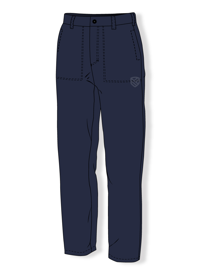 Flame retardant trousers for welders