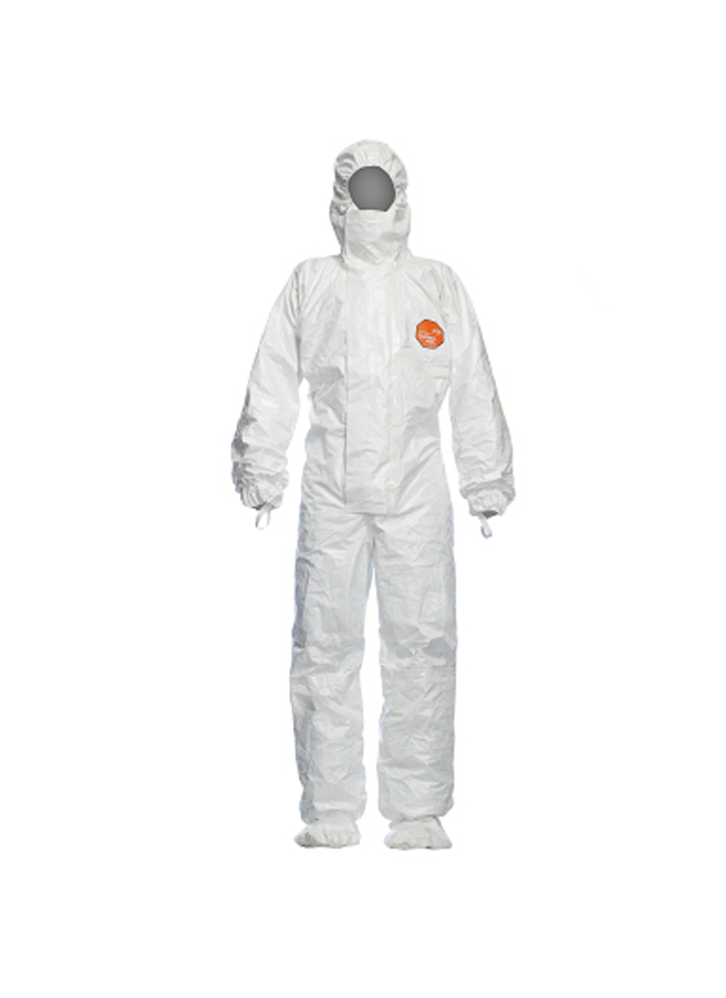 TYCHEM® 4000 S protective coveralls with socks